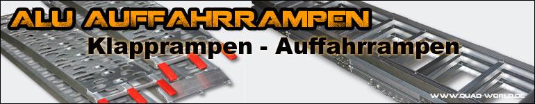 Alu Auffahrampen Online-Shop || Klapprampen und Quad ATV Rampen bekommen Sie bei uns im Shop