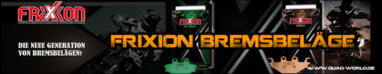 Frixion Bremsklötze für Quad und ATV in Sinterbelag Qualität