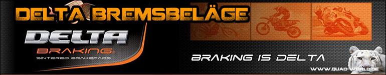Bremsklötze für Quad und ATV von Delta Braking bekommen Sie bei uns im ATV Shop