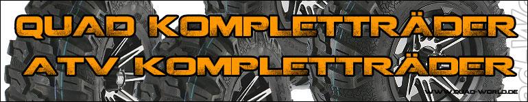 Quad Kompletträder und ATV Kompletträder in allen variationen und in Top Qualität bei uns im Reifen Shop