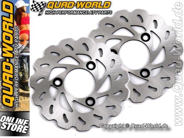 QUAD-WORLD RACING Bremsscheibe Kymco KXR 250 vorne