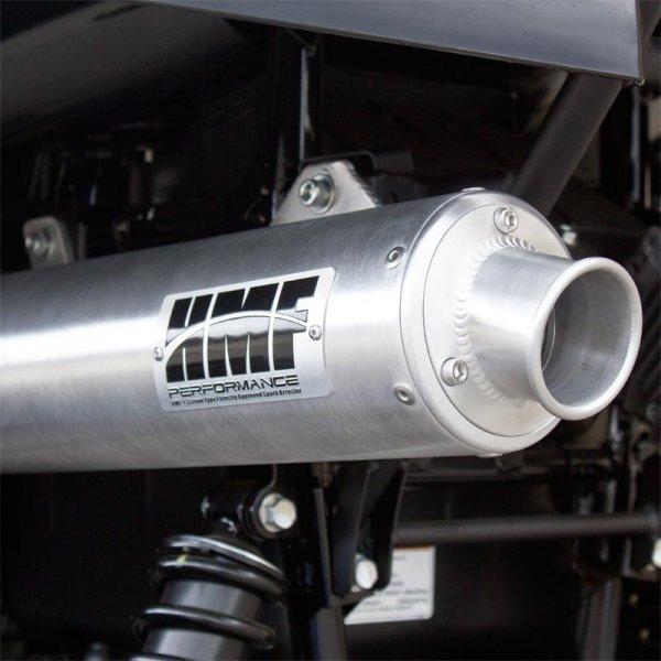 HMF Auspuff Endtopf Edelstahl Performance Serie Kawasaki Brute Force 750    12-14