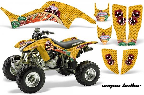 Grafik Kit Dekor Vegas Baller Honda TRX 400EX 99-07 Quad ATV Graphic Kit