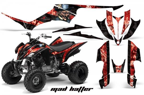 Grafik Kit Dekor Madhatter Yamaha YFM 350 R Quad ATV Graphic Kit