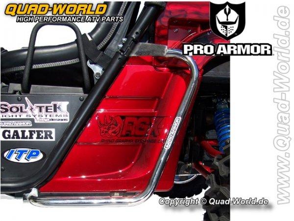 Pro Armor SIDE GUARDS Polished für Yamaha Rhino für Yamaha Rhino