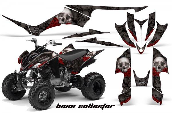 Grafik Kit Dekor Bonecollector Yamaha YFM 350 R Quad ATV Graphic Kit