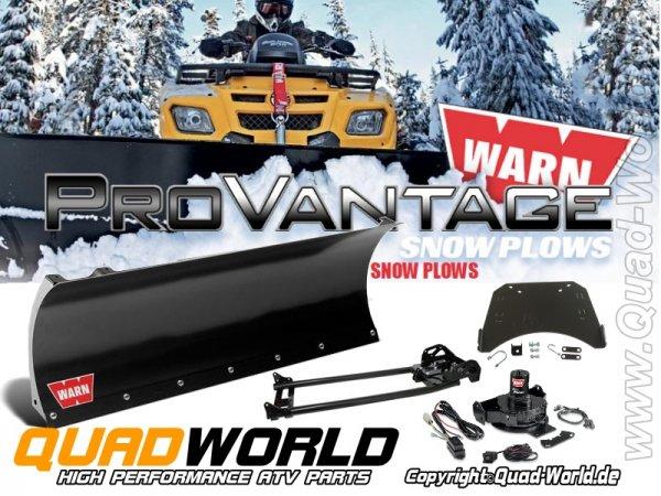 Schneeschild für ATV Centermontage Warn ATV Schneeschild