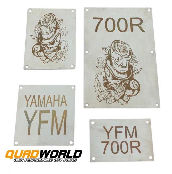 Quad Warnschilder Typ T2 Yamaha YFM 700R 13-