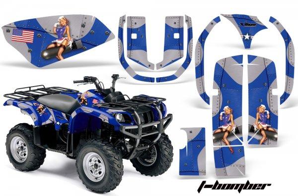 Grafik Kit Dekor T-Bomber Yamaha 660 Grizzly Quad ATV Graphic Kit