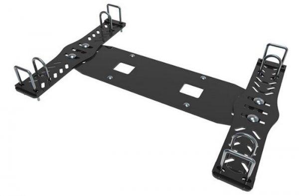 Kolpin Schneeschild Universal Anbauplatte Halteplatte für UTV