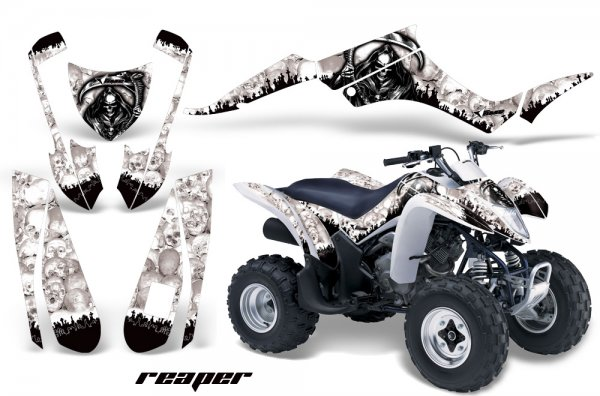 Grafik Kit Dekor Reaper Suzuki LTZ 250 Quad ATV Graphic Kit