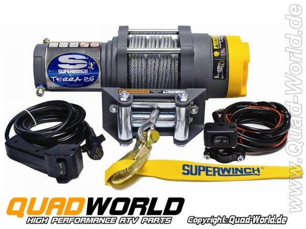 SUPERWINCH ATV Seilwinde TERRA 25 Stahlseil 1134kg