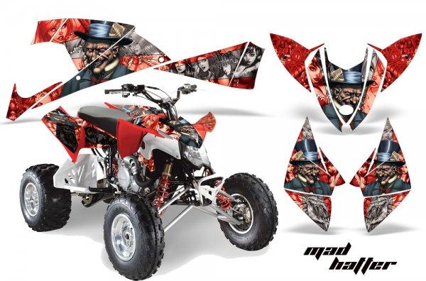Grafik Kit Dekor MadHatter Polaris Outlaw 450/500/525 09-11 Quad ATV Graphic Kit