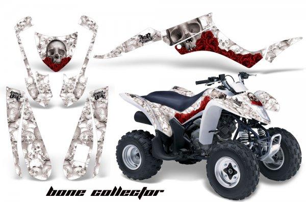Grafik Kit Dekor Bone Collector Suzuki LTZ 250 Quad ATV Graphic Kit