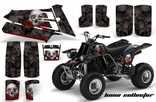 Grafik Kit Dekor Bone Collector Yamaha 350 Banshee Quad ATV Graphic Kit