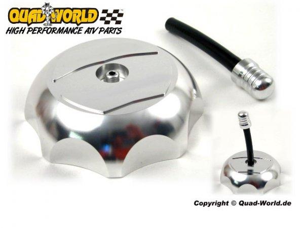 Quad Aluminium Tankdeckel Alu Yamaha YFM 700R