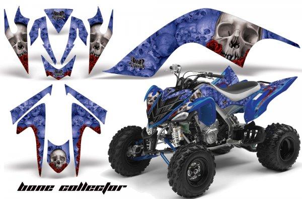 Grafik Kit Dekor Bone Collector Yamaha YFM 700R Quad ATV Graphic Kit