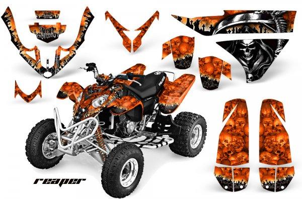 Grafik Kit Dekor Reaper Polaris Predator 500 Quad ATV Graphic Kit