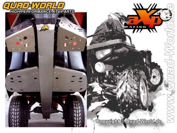AXP ATV Motorschutz Skidplate einfach Suzuki KING QUAD 700 (6mm)