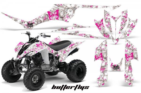 Grafik Kit Dekor Butterflys Yamaha YFM 350 R Quad ATV Graphic Kit