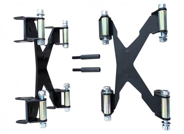 X-Down Tieferlegung vorne ver. Fahrzeuge mit Teilegutachten