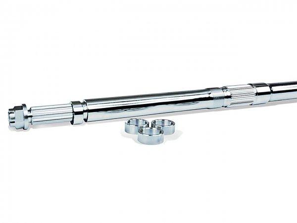 Hinterachse + 4 Zoll einstellbar inkl.Achsmutter f. Yamaha YFM 350R