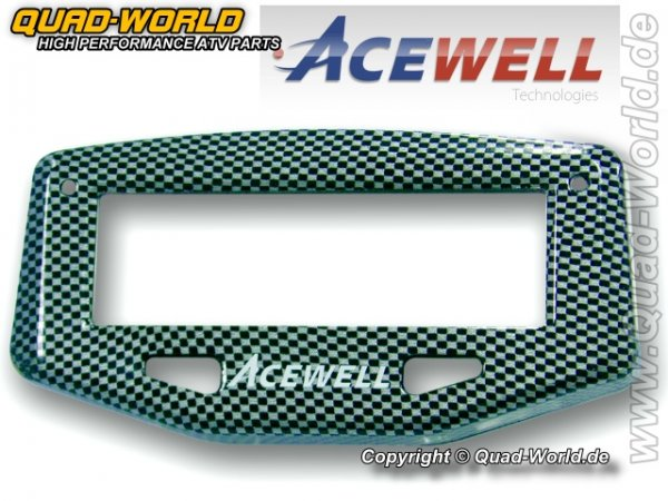 Acewell Cover Carbon Schwarz für ACE Serie 1***
