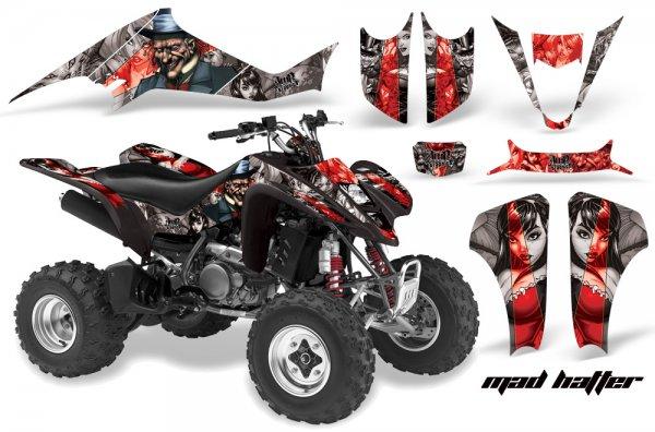 Grafik Kit Dekor MadHatter Suzuki LTZ 400 04-08 Quad ATV Graphic Kit