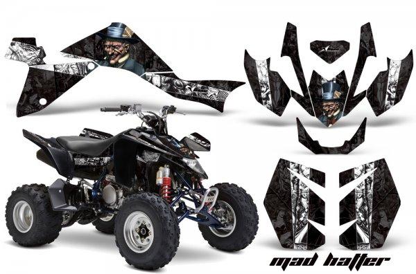 Grafik Kit Dekor MadHatter Suzuki LTZ 400 09-11 Quad ATV Graphic Kit