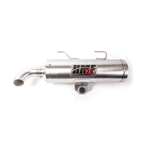 HMF EndschalldämpferQS Titan Serie mit Billet Endkappe Chrom Polaris Sportsman 550 850 XP
