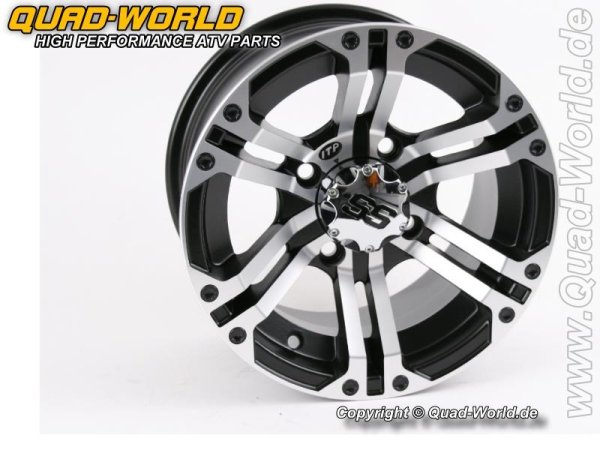 ITP Felge Type SS212 Machined Black 12x7 4/156 4+3