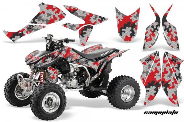 Grafik Kit Dekor Camo Plate Honda TRX 450R 04-11 Quad ATV Graphic Kit