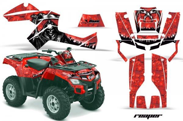 Grafik Kit Dekor Reaper Can Am Outlander 800 Quad ATV Graphic Kit