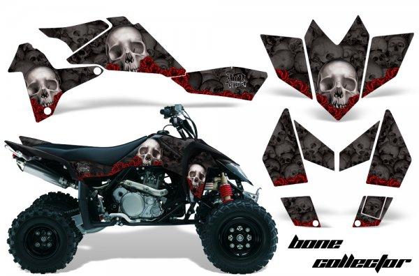 Grafik Kit Dekor Bone Collector Suzuki LTR 450 Quad ATV Graphic Kit