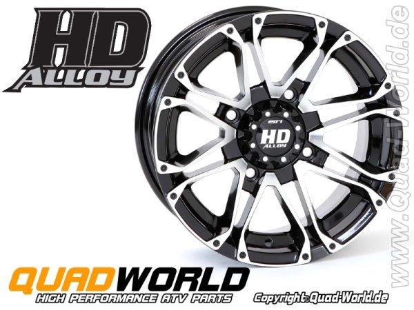 ATV Felge STI Alloy HD3 machiened glänzend 12x7 4/110 5+2