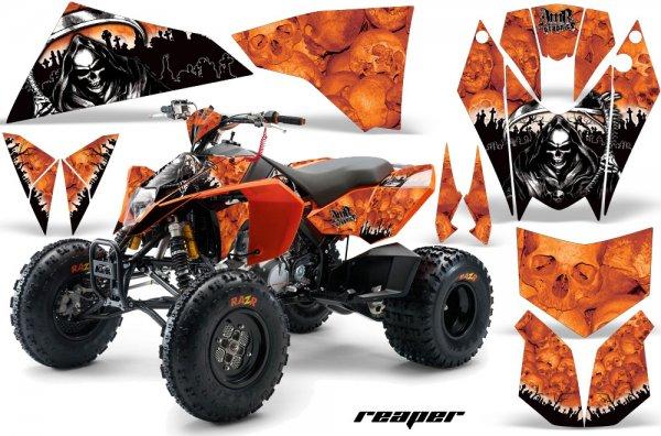 Grafik Kit Dekor Reaper KTM 450/505/525 Quad ATV Graphic Kit