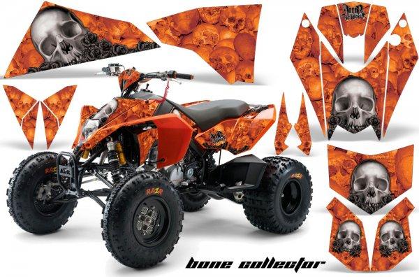 Grafik Kit Dekor Bone Collector KTM 450/505/525 Quad ATV Graphic Kit