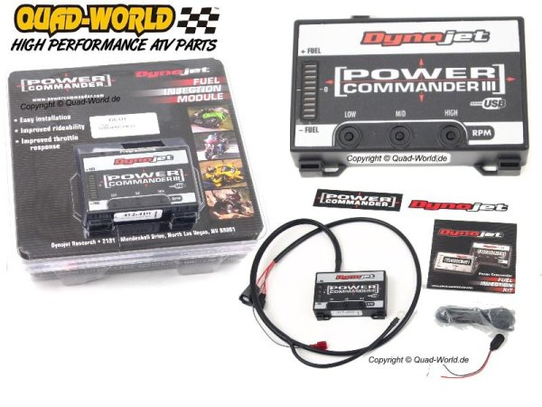Power Commander IIIusb ATV Bombardier Can Am Outlander 500 2007