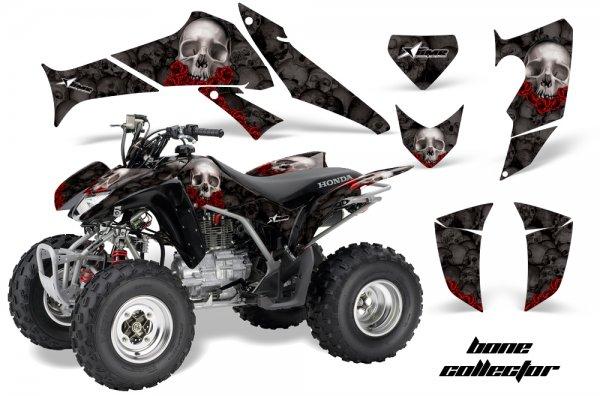 Grafik Kit Dekor Bone Collector Honda TRX 250EX / 250R Quad ATV Graphic Kit