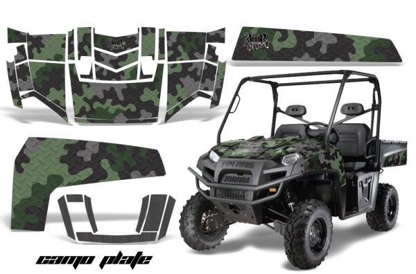 Grafik Kit Dekor Camo Plate Polaris Ranger XP 500/700 4X4 UTV Graphic Kit