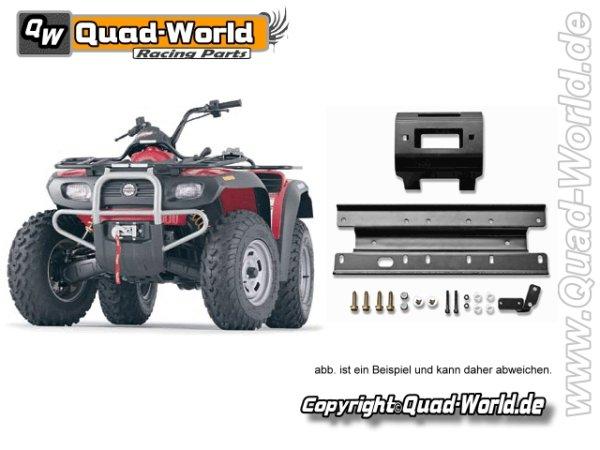 Seilwindenanbau Montage Platte Polaris RZR 900 für RT XT 40