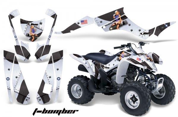 Grafik Kit Dekor T-Bomber Suzuki LTZ 250 Quad ATV Graphic Kit