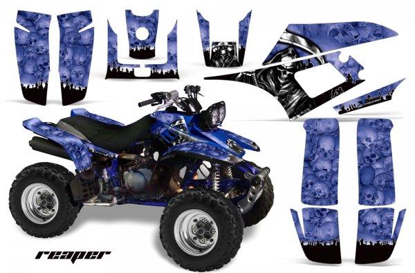 Grafik Kit Dekor Reaper Yamaha YFM 350 Warrior Quad ATV Graphic Kit