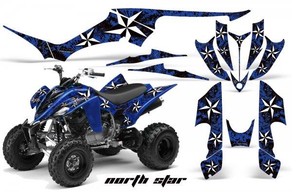 Grafik Kit Dekor Northstar Yamaha YFM 350 R Quad ATV Graphic Kit