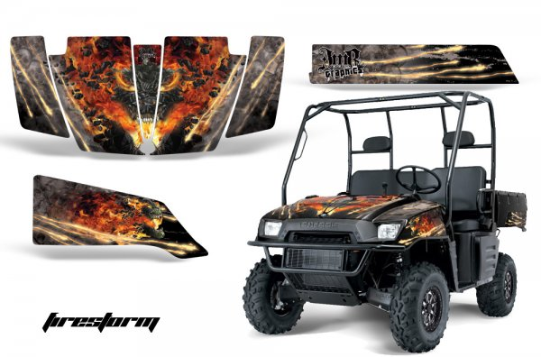 Grafik Kit Dekor Firestorm Polaris Ranger 500/700 XP 05-08 UTV Graphic Kit