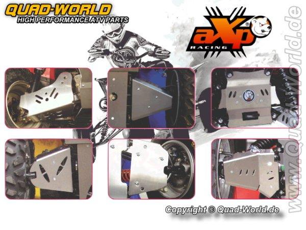 AXP ATV A-Arm Schutz Suzuki KING QUAD 700 05- Hinten 4mm