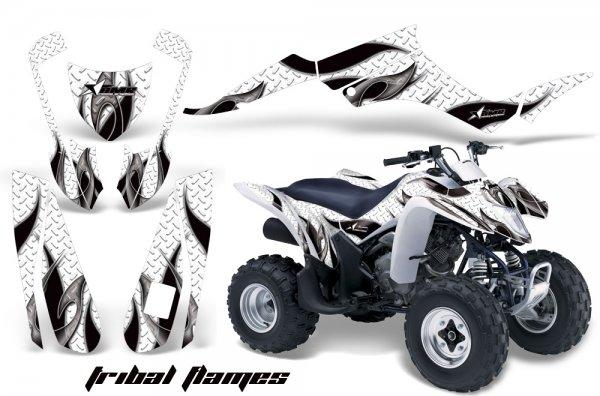 Grafik Kit Dekor Tribal Flame Suzuki LTZ 250 Quad ATV Graphic Kit