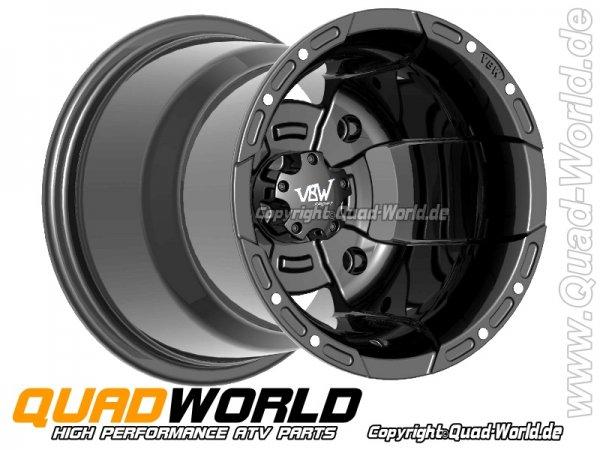 VBW-Sport Quad Felge Schwarz 10x8 3+5 4/144
