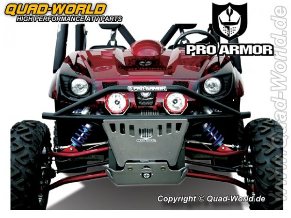 Pro Armor FRONT BUMPER BLACK für Yamaha Rhino