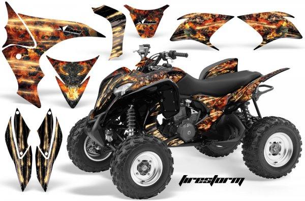 Grafik Kit Dekor Firestorm Honda TRX 700XX Quad ATV Graphic Kit